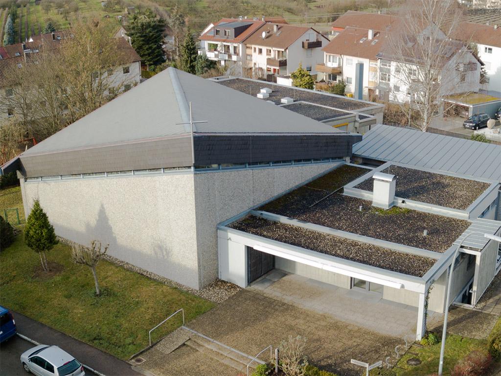 Kirchenansicht St. Stephan, Grossheppach