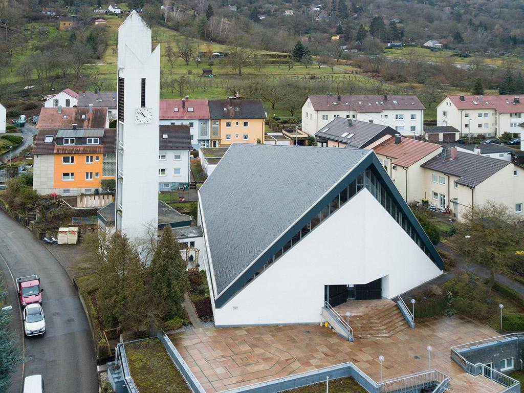 Kirchenansicht St. Michael, Remshalden